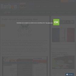 Portia - Un outil de web scrapping visuel