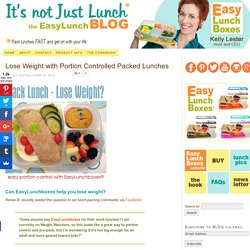Adults can lose weight with portion-controlled packed lunches