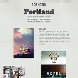 Hotel Room Photos : Ace Hotel Portland