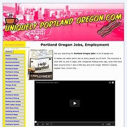 Find A Job In Portland Oregon