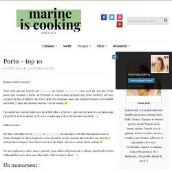 Porto - top 10 - Marine is Cooking