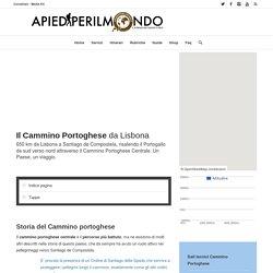 CAMMINO PORTOGHESE da Lisbona - Apiediperilmondo