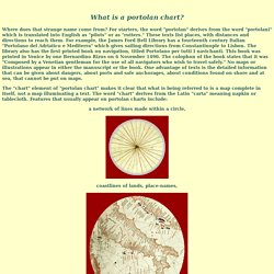 Portolan Charts Intro - Bell Library: Maps and Mapmakers