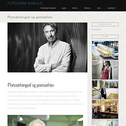 Portrætfotograf og portrætfoto - Fotograf Aarhus