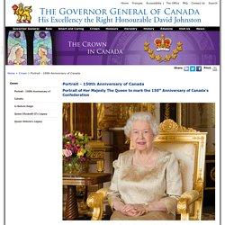 Portrait - 150th Anniversary of Canada