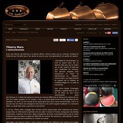 Portrait de chef cuisinier - Thierry Marx