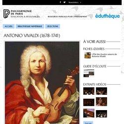 Portrait de Antonio Vivaldi