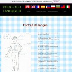 Portrait de langue