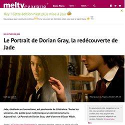 Le Portrait de Dorian Gray, la redécouverte de Jade