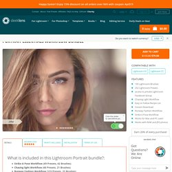 Portrait Essentials Lightroom - 252 presets & 105 Brushes