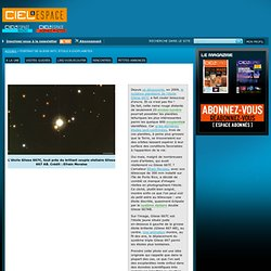 Portrait de Gliese 667C, étoile à exoplanètes