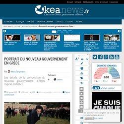 Portrait du nouveau gouvernement en Grèce