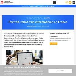 Portrait-robot d'un informaticien en France