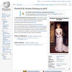 Portrait de Jeanne Samary en pied