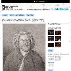 Portrait de Johann Sebastian Bach