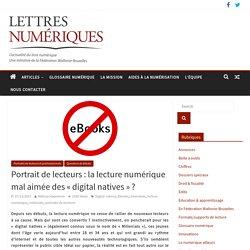 Portrait de lecteurs : la lecture numérique mal aimée des « digital natives »