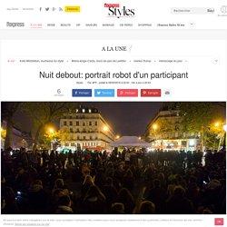 Nuit debout: portrait robot d'un participant - L'Express Styles