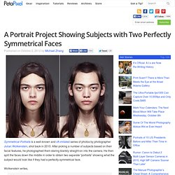 A Portrait Project Showing Subjects with Two Perfectly Symmetrical Faces
