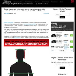Free portrait photography cropping guide
