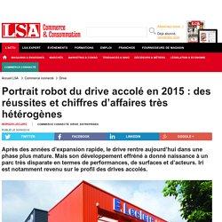 Portrait robot du drive accolé en 2015 : des...
