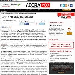 Portrait robot du psychopathe
