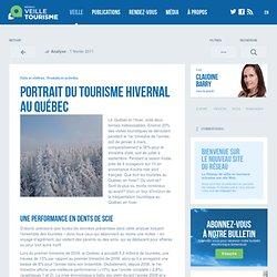 » Portrait du tourisme hivernal au Québec