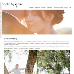 Photo by Geri » custom portrait and wedding photography