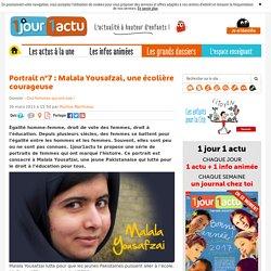 Le portrait de Malala Yousafzai expliqué aux enfants.