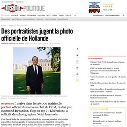 Des portraitistes jugent la photo officielle de Hollande