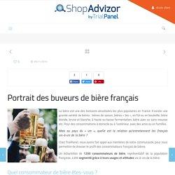 Portraits des buveurs de bière français