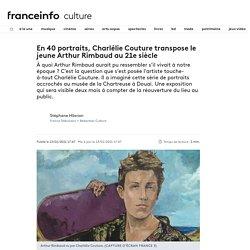 En 40 portraits, Charlélie Couture transpose le jeune Arthur Rimbaud au 21e siècle