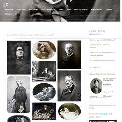 Les portraits de la Collection Marboeuf. Œuvre d'Alain Rivière, 2009.