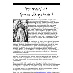 Portraits of Queen Elizabeth I (1533-1603), with commentary