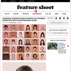 'Humanae' Portraits Match People of Different Ethnicities With Their Pantone Color