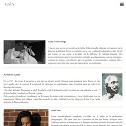 Portraits - Gaïa .. Exposition nomade
