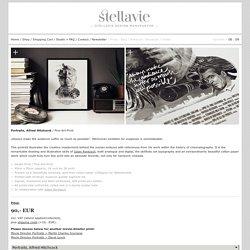 Portraits, Alfred Hitchcock — Stellavie & Julian Rentzsch