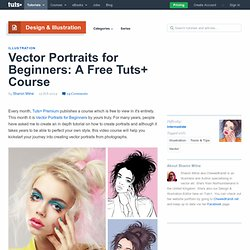 Vector Portraits for Beginners: A Free Tuts+ Course
