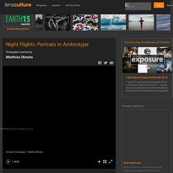 Matthias Olmeta - Night Flights: Portraits in Ambrotype