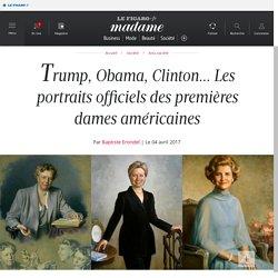 Trump, Obama, Clinton... Les portraits officiels des premières...