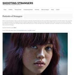Portraits of Strangers | Shooting Strangers in Orchard Road