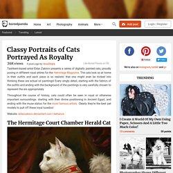 Classy Portraits of Cats Portrayed As Royalty by Eldar Zakirov