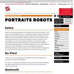 Portraits robots - Des robots pour tout, des robots pour tous?