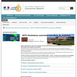 Portraits de technico-commerciaux : BTS TC BOIS & HABITAT du lycée LAMOUR