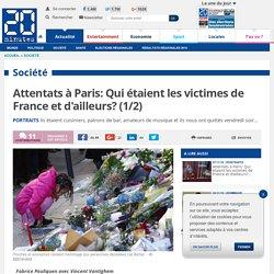 Portraits des victimes des attentats de Paris