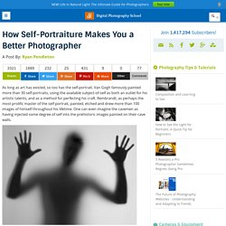 How Self-Portraiture Makes you a Better Photographer