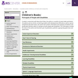 Children's Books: Portrayals of People with Disabilities