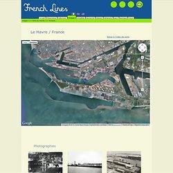 Carte des ports du Monde en archives : l'exemple du Havre