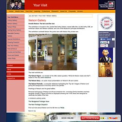 The Nelson Gallery | Your Visit | Royal Naval Museum at Portsmouth Historic Dockyard