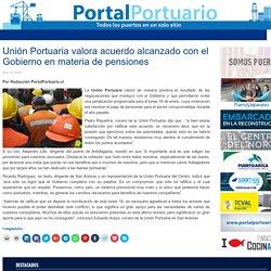 Unión Portuaria valora acuerdo alcanzado con el Gobierno en materia de pensiones - Portal Portuario