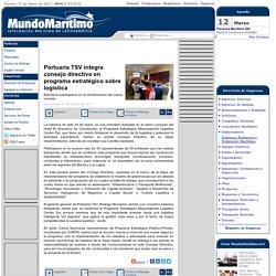 Portuaria TSV integra consejo directivo en programa estratégico sobre logística